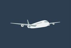 Flat airplane Stock Photo