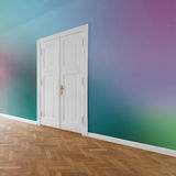 Flat / apartment with colored walls Stock Photo