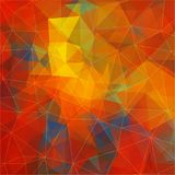 Flat background with geometric figures. Flat Vector background Stock Photography