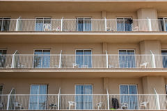 Flat & Balconys Stock Image