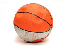 Flat basketball Stock Photos