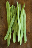 Flat beans. Royalty Free Stock Images