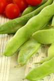 Flat beans Royalty Free Stock Image