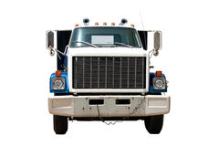 Flat Bed Truck Front. This is the front of a mid 1980's flat bed truck Stock Images