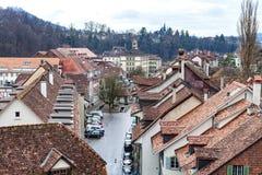 Flat in Bern stock foto's