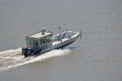 Flat Bottom Boat Royalty Free Stock Image