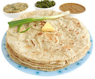 Flat bread. Made from sorghum flour Royalty Free Stock Photography