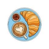 Flat Breakfast Illustration