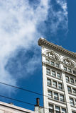 The flat building in San Francisco Royalty Free Stock Photos