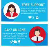 Flat Business Infographic Background Royalty Free Stock Photo