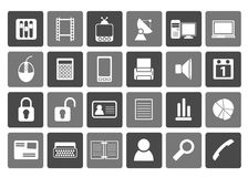 Flat Business and office icons. Vector icon set Stock Photography