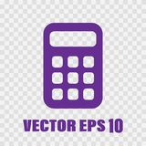 Flat Calculator Vector stock illustration
