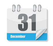 Flat Calendar Icon for Applications Vector Stock Photo