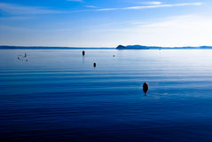 Flat calm Royalty Free Stock Images