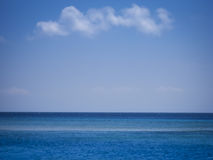 Open ocean sea background bali lombok Stock Photography