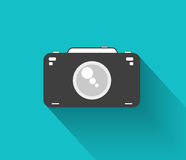 Flat camera Stock Image