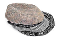 Flat caps and bonnets Royalty Free Stock Image