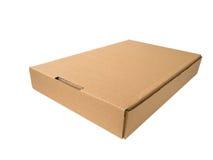 Flat cardboard box Stock Photography
