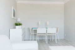 Flat clean for friends visit. View of a room perfectly clean for friends visit Stock Image