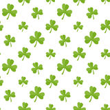 Flat clover Royalty Free Stock Photography