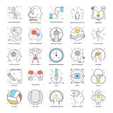 Flat Color Line Icons 19. A collection of Flat Color Line Icons that you can easily integrate in your design and the cool thing is, that there are so many of Royalty Free Stock Photo