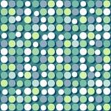 Flat colorful circles. Seamless pattern of flat colorful circles Stock Photo