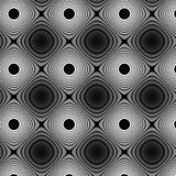 Flat colorless pattern Stock Image