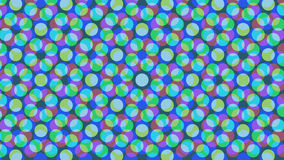 Flat colors background. Flat colors absract background consisting of circles Vector Illustration