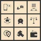 Flat  concept economic icon Royalty Free Stock Photography