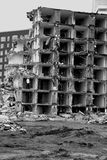 Flat demolition Stock Photo