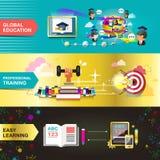 Flat design concept for education Stock Photos