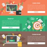 Flat design concepts for business. Vector illustration Stock Image