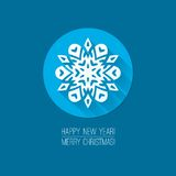 Flat design concepts for Merry Christmas and Royalty Free Stock Image