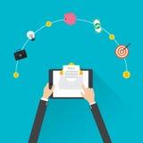 Flat design, E-mail marketing concept, vector Stock Photography