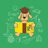 Flat design  for education time Stock Photo