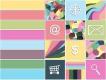 Flat design elements Royalty Free Stock Image