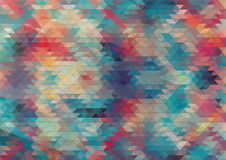 Flat design geometric colorful background Stock Photos