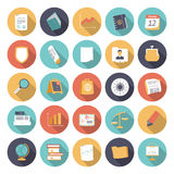 Flat design icons for business and finance Stock Photo