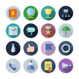Flat Design Icons For Business Stock Photos