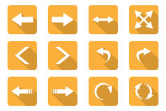 Flat design icons Royalty Free Stock Photo