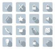 Flat design icons Royalty Free Stock Photos