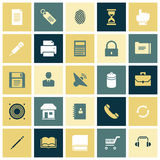 Flat design icons for user interface. Vector illustration Royalty Free Stock Image