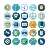 Flat design icons for user interface Royalty Free Stock Photo