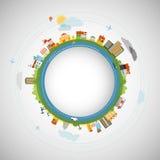 Flat design illustration Stock Image