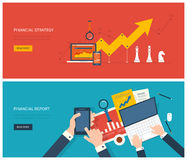 Flat design modern vector illustration concept of Stock Images