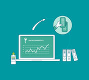 Flat design modern vector illustration concept for Stock Photography