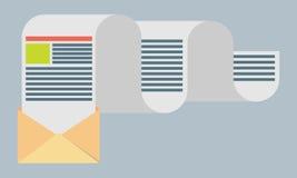 Flat design modern vector illustration concept of regularly  Stock Photos