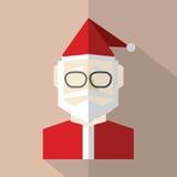 Flat Design Santa Claus Royalty Free Stock Photo
