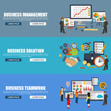 Flat design style modern vector illustration concept for corporate business Stock Photos