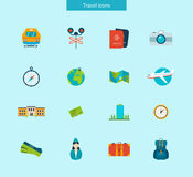 Flat design style modern vector illustration icons Royalty Free Stock Photos